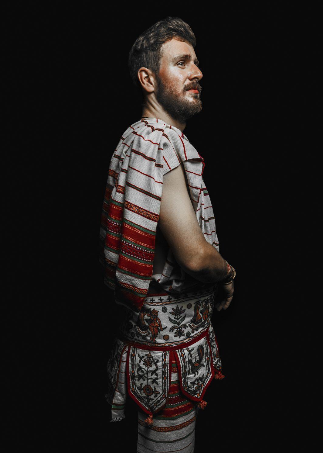 irani balochi wrap shawl